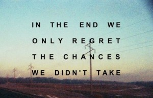 how to have no regrets in life