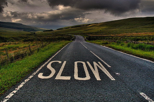slowing down is so important for anxiety